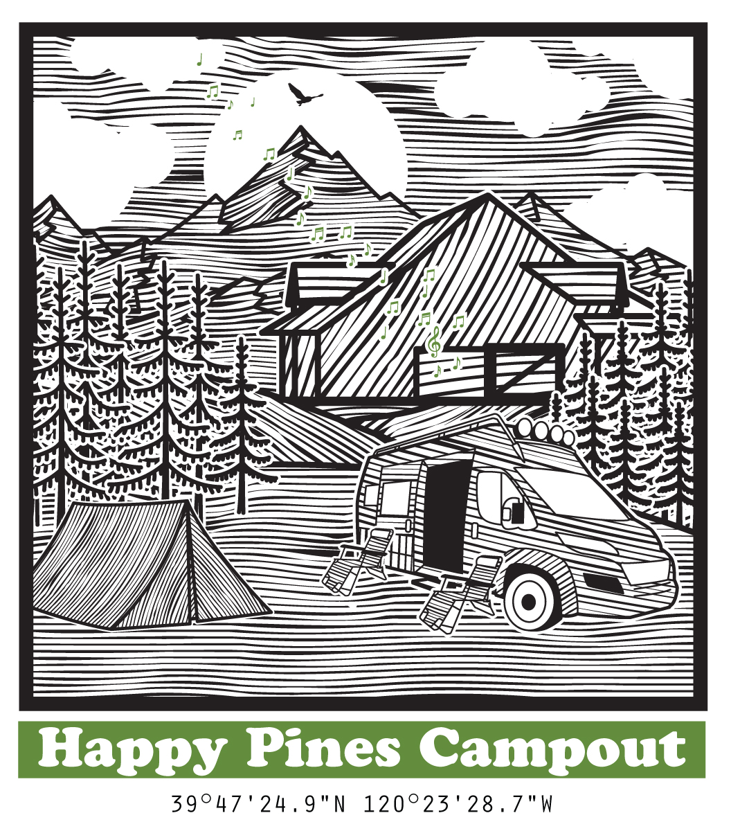 Happy Pines Campout Sierra Valley Basecamp